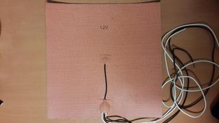 Heated Bed / Cama Caliente De Silicona 300*300 Impresora 3d