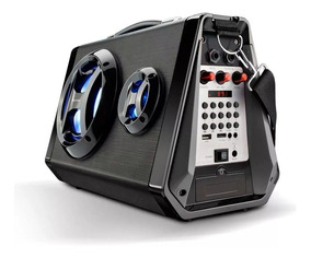 Caixa De Som Multiuso Bluetooth/ Led/ Microfone 80w Sp217