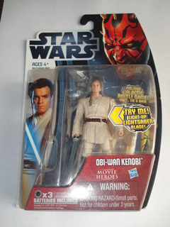 Star Wars Obi-wan Kenobi Movie Heroes 3;75 Hasbro Supertoys
