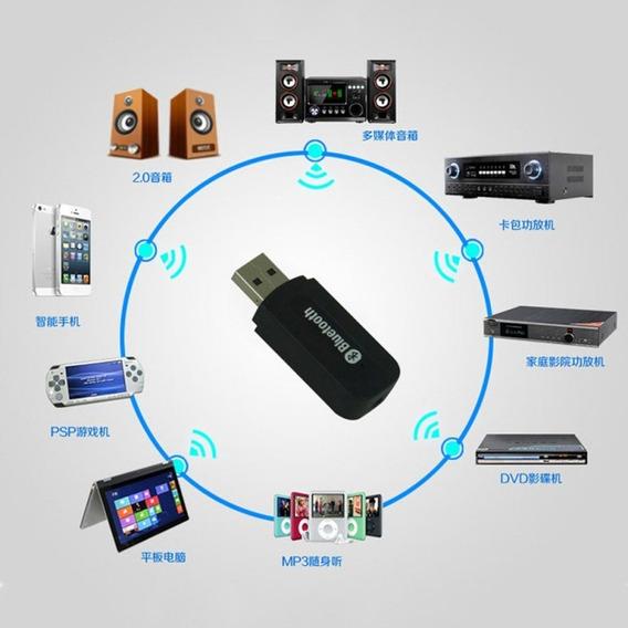 Usb Bluetooth Wireless Stereo Audio Music Speaker Rece