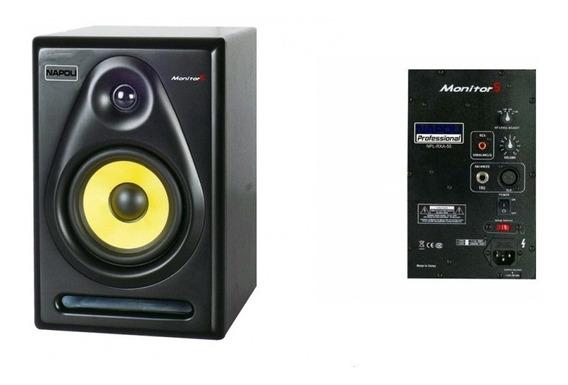 Monitor Studio Napoli Rx 55 600 Wts Pico Caixa Amplificada