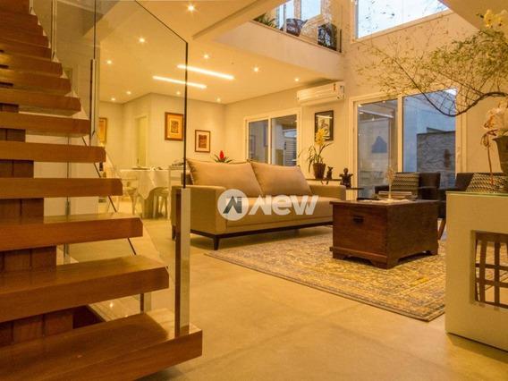Casa Com 3 Dormitórios À Venda, 219 M² Por R$ 983.002 - Rondônia - Novo Hamburgo/rs - Ca2918