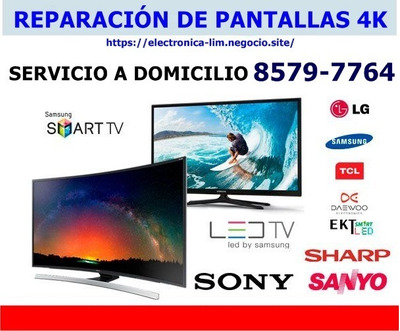 Reparación De Pantallas Led Smart 4k A Domicilio 85797764