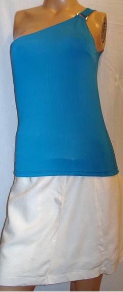 Remera Vestir Elastizada Talle 1 Algodón Y Lycra