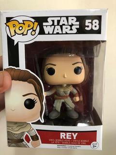 Funko Pop Star Wars Rey #58 Original Episodio 7 Skywalker