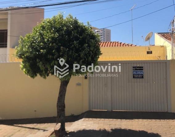 Casa Para Aluguel, 3 Quartos, 3 Vagas, Jardim Panorama - Bauru/sp - 753