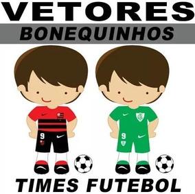 Estampas Vetorizadas Tal Pai Tal Filho Futebol Bonequinhos
