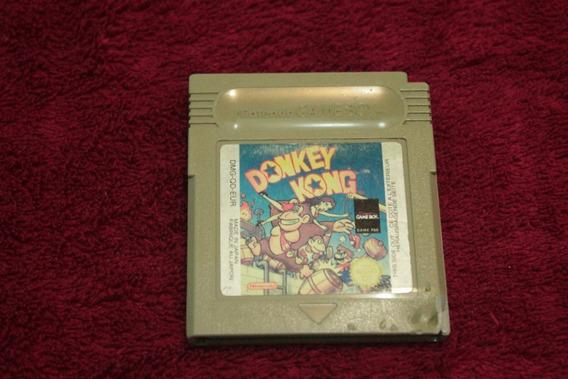 Donkey Kong Original Americano Para Nintendo Game Boy Raro