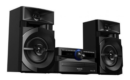 Mini System Panasonic Sc-akx100lbk 250w Usb Bluetooth Preto