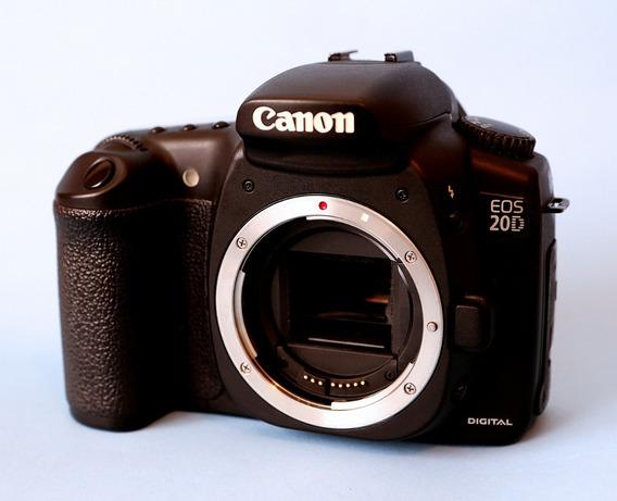 Canon Eos 20d (corpo) Ótimo Estado Na Caixa Desc. A Vista