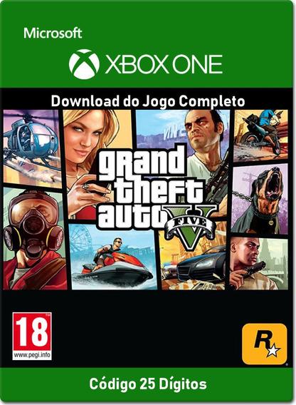Grand Theft Auto V - Xbox One - Código 25 Dígitos