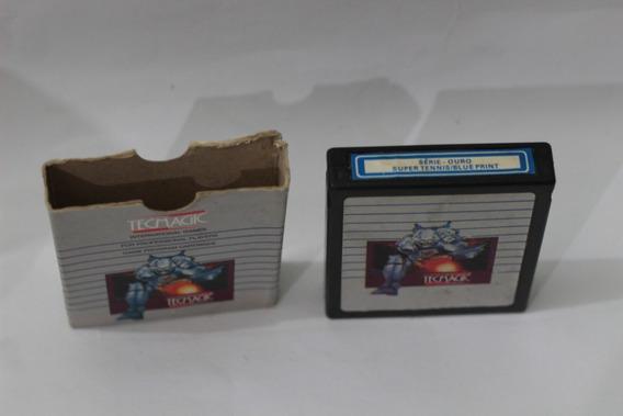 Jogo Tennis Blue Print Tecmagic Raro Atari 2600 Frete R$12