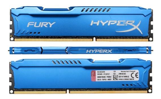 Memória Ram De 4gb Para Pc Hyperx Fury Hx316c10f/4 Ddr3
