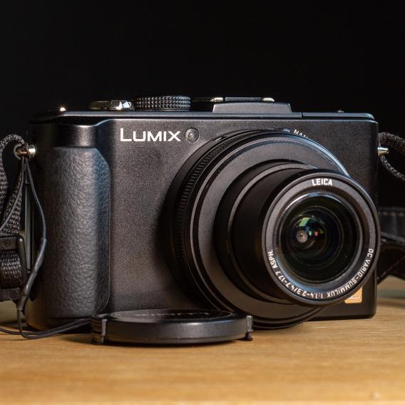 Câmera Panasonic Lumix Dmc Lx7 - 2 Baterias