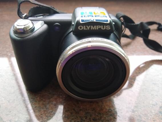 Câmera Digital Olympus Sp-6000uz - Lcd Com Defeito