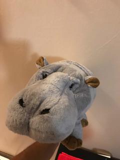 Peluche Hipopótamo Disney Animal Kingdom