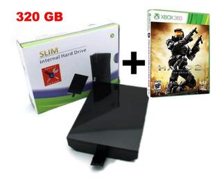 Disco Duro 320 Gb Xbox 360 Slim 5.0 + 55 Sorpresas