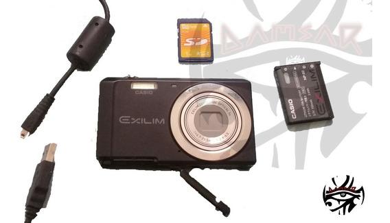 Câmera Digital Casio Exilim Ex-zs5 14,1 Megapixel Leia Antes