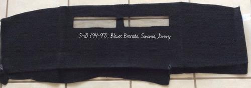 Imagen 1 de 1 de Tapete Cubre Tablero S10, Blazer Sonoma Jimmy Bravada 94-97