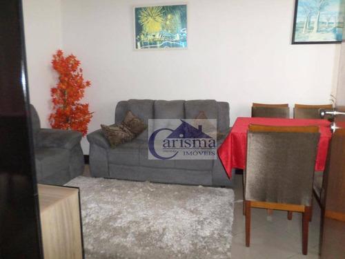 Imagem 1 de 25 de Sobrado Com 3 Dormitórios À Venda, 114 M² Por R$ 800.000,00 - Vila Marina - Santo André/sp - So0764
