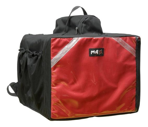 Bag Bolsa Mochila Motoboy Pizza Lanches Caixa Isopor Térmic