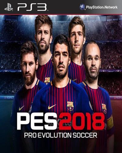 Imagen 1 de 1 de Pes 18 Pro Evolution Soccer Digital Latino Ps3