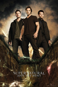 Poster Supernatural Join The Hunt