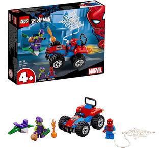Lego Superheroes Persecusion En Coche De Spiderman 76133