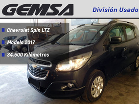 Chevrolet Spin Ltz 5 Asientos 2017 Impecable