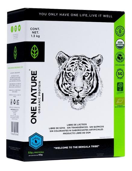 One Nature 1.3 Kg Proteína Vegana Certificada Polvo
