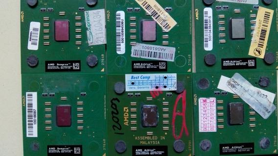 Processadores Atlon Xp, 20 No Total, 90% Funcionando.