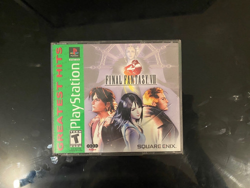 Final Fantasy 8 Ps1 Original Americano Todos Cds