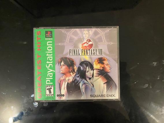 Final Fantasy 8 Ps1 Original Americano Todos Cds