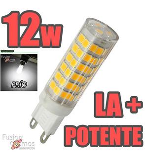 Lampara Bipin Led G9 220v 12w Luz Cálida Fria La Más Potente