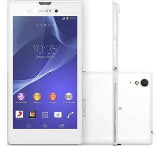Sony Xperia T3 D5106 8gb 1gb Ram 8mp Branco Vitrine 1