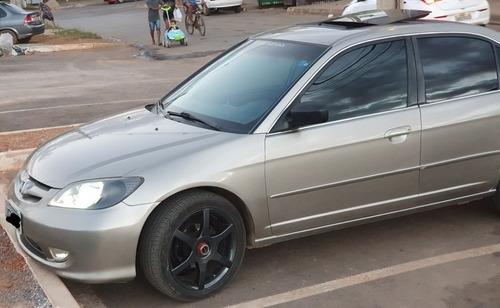 Honda Civic Ex 2004 Vtec Automático Com Teto Solar