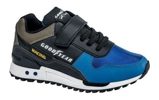 Tenis Casual Goodyear Racing 3794 Niños 162101