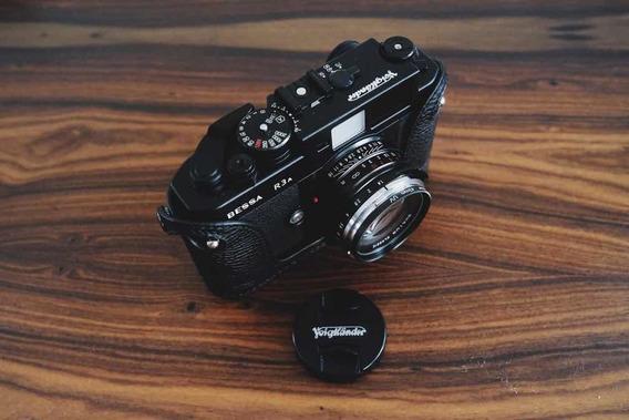 Voigtlander Bessa R3a Com Nokton 40mm F/1.4 Como Leica M6 M7
