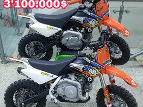 Ycf 50cc Francesa Motos A Gasolina Para Niños