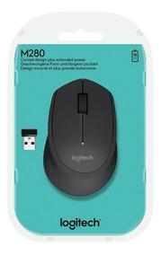 Mouse Logitech M280 Wireless Preto 1000 Dpi Pilhas Duram !!!