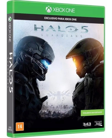 Halo 5 Guardians Xbox One Original Mídia Física