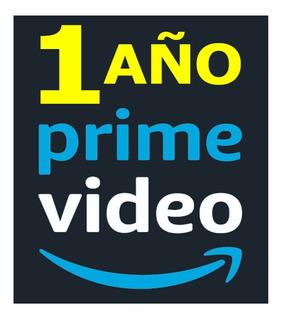 Amazon Prime Video 1 Año - Calidad Hd ( Películas Y Series )