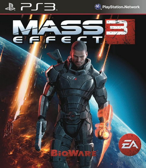 Jogo Mass Effect 3 Playstation 3 Ps3 Mídia Física Bioware