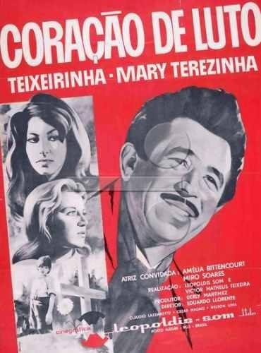 Coração De Luto (1967) Teixeirinha Cinema Nacional Dvd