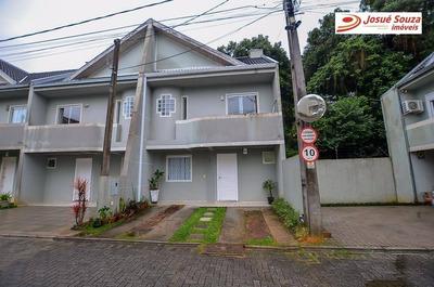 Sobrado Com 3 Dormitórios Para Alugar, 104 M² Por R$ 2.350/mês - Uberaba - Curitiba/pr - So0698