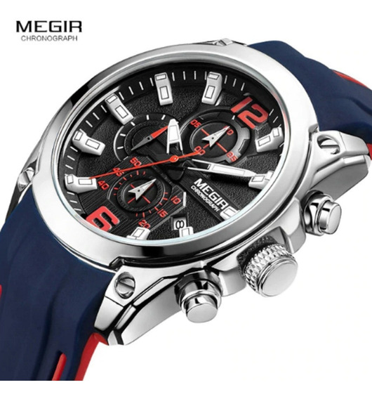 Relógio Megir Esportivo Original Top