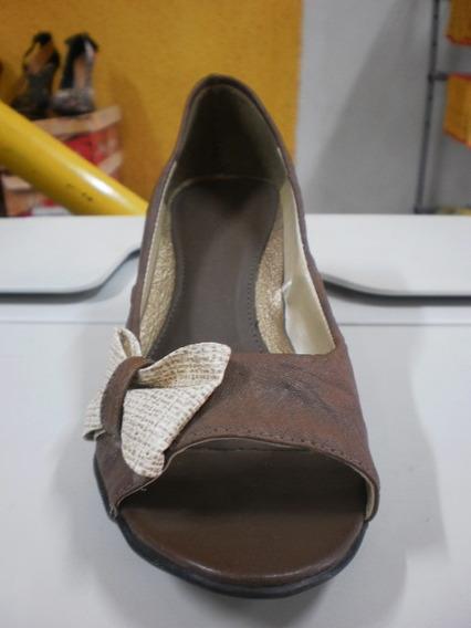 Sapato Feminina Meio Alto