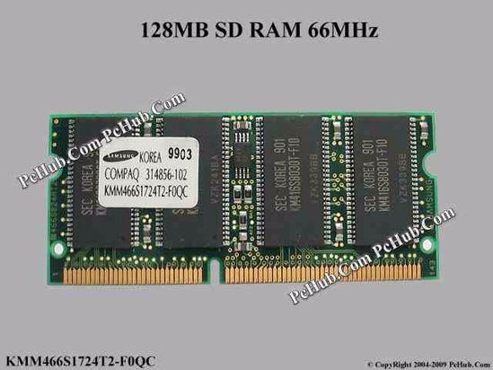 Samsung Sodimm 144pin Sd Ram 66mhz 128mb Reliquia Mirá