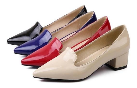 Sapato Feminino Asumer 00729 Importado Frete Grátis