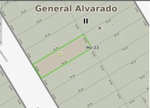 Lote En Arenas De Oro Calle Sarmiento Y Carlos Pellegrini